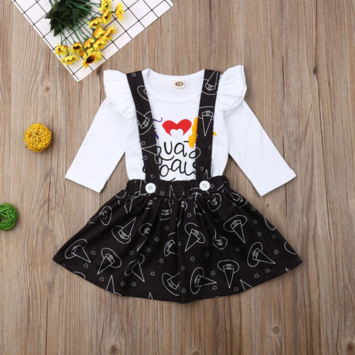 Halloween Newborn Infant Baby Girl Outfits Clothes Romper Bodysuit Pants New