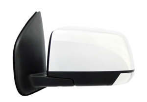 FOR ISUZU D-MAX 10/2016-ON DOOR MIRROR CHROME LEFT SIDE W/LAMP & FOLD NO HEAT