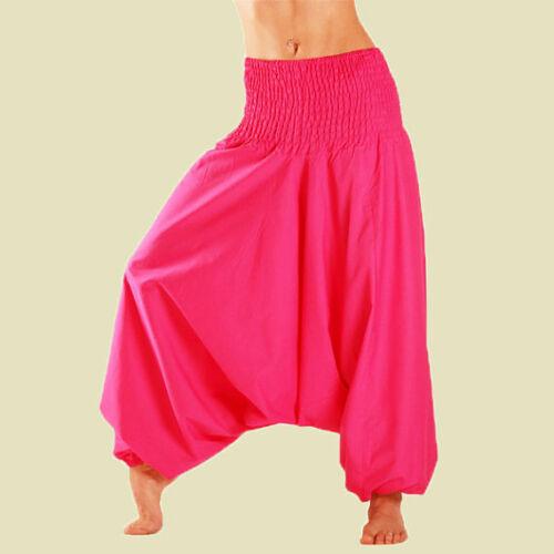 da indiano cotone uomo di da Pantaloni Aladino da larghi Pantaloni yoga in Harem Pantaloni uomo q7I68