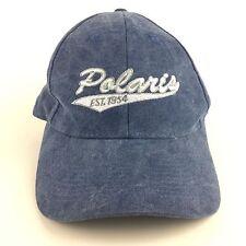 Polaris ATV RANGER RZR General Snowmobile Slingshot Blue Cap Men's Hat
