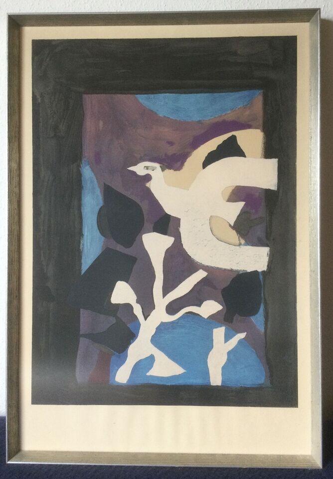 Plakat, Georges Braque, motiv: Derniers Messages