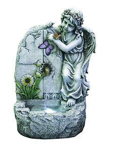 Fontana angelo in resina da giardino ebay - Statue da giardino in resina ...
