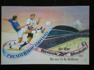 POSTCARD-SPORT-1997-BOLTON-FOOTBALL-PREMIERSHIP-FOOTBALL-IN-THE-REEBOK-STADIUM