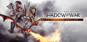 Middle Earth Shadow of War Definitive Edition | Steam | PC | Digital | Worldwide