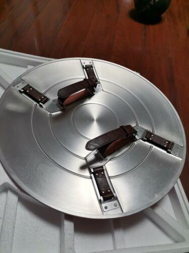 Metal Captain America Vibranium Shield Made of Aluminum Alloy 1:1 Scale Prop