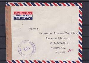 Flugpost Zensuriert gelaufen 1951 von Zypern nach Wien ANSEHEN - Graz, Österreich - Kunden, die als Verbraucher anzusehen sind, können von einem Fernabsatzvertrag oder einem außerhalb von Geschäftsräumen geschlossenen Vertrag binnen 14 Tagen ohne Angabe von Gründen zurücktreten. Die Belehrung über die Vorausset - Graz, Österreich