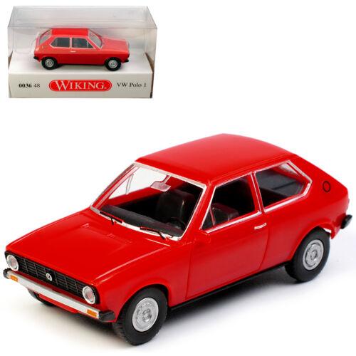 Generation 1975-1981 h0 1//8... VW Volkswagen Polo I tipo 86 3 puertas senegal rojo 1