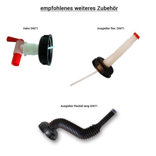 Kanisterausgießer Kanisterzubehör Ausgießer flexibel lang DIN71 lebensmittelecht