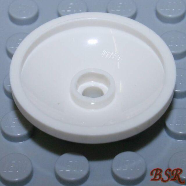 4X Lego® 43898 Runde Platte Schüssel Radar Dish 3X3 invertiert Weiß White NEU