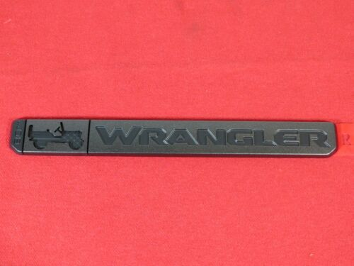 2021 JEEP WRANGLER JL Front Fender Anniversary Edition Nameplate NEW OEM MOPAR