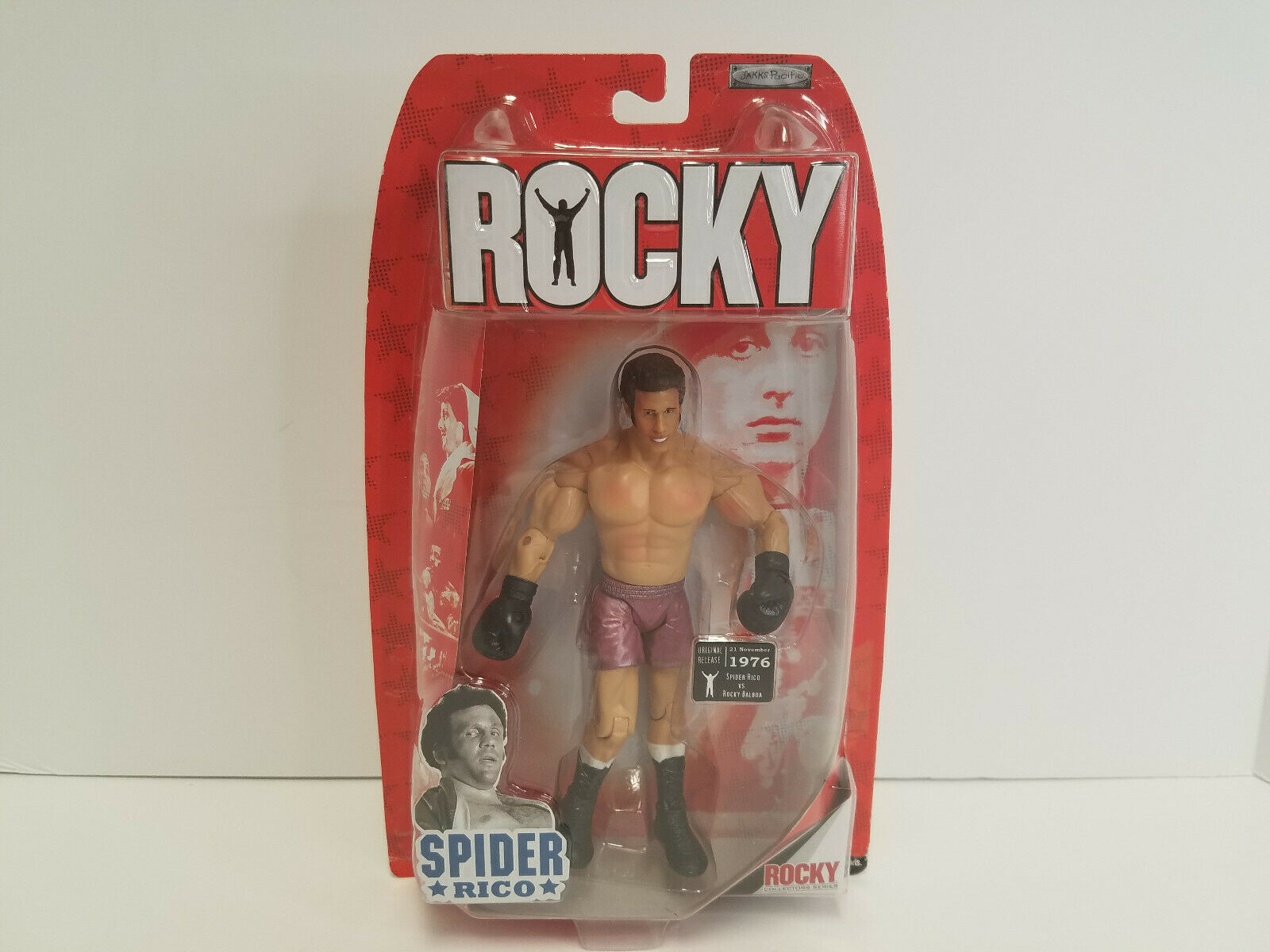 Jakks Pacific Rocky Collectors Series Araña RICO 2006 Authentic Collection