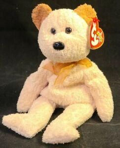 TY 2000 HUGGY the BEAR BEANIE BABY -with MINT TAGS *k97