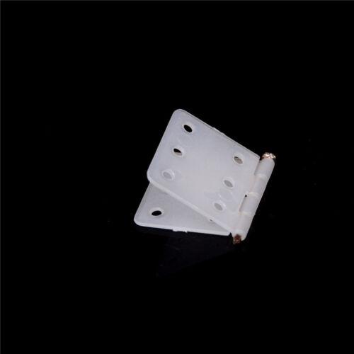 20pcs 27*16mm Nylon Plane Hinge for RC Airplane DIY Accessories TS