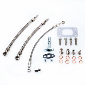 Turbo Oil Water Kit fit SUBARU WRX Impreza EJ20 w/ Garrett