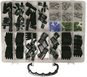 steckverbinder sortiment wasserdicht 232t kfz 1 2 3 4 polig steckkontakt geh use ebay. Black Bedroom Furniture Sets. Home Design Ideas