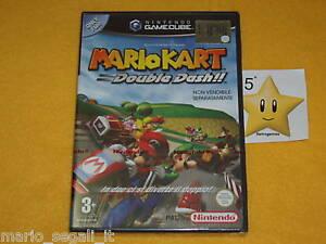 MARIO-KART-DOUBLE-DASH-Nintendo-Game-Cube-GC-NUOVO-SIGILLATO-ITALIA-NEW-SEALED