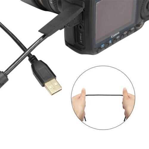 5M de largo 2.0 Mini USB Cargador Rápido Cable De Datos De Bronce Cable Cable para Cámara PC