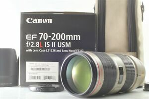 【 UNUSED in Box 】 CANON EF70-200mm F2.8L IS II USM Lens w/ Soft Case From Japan