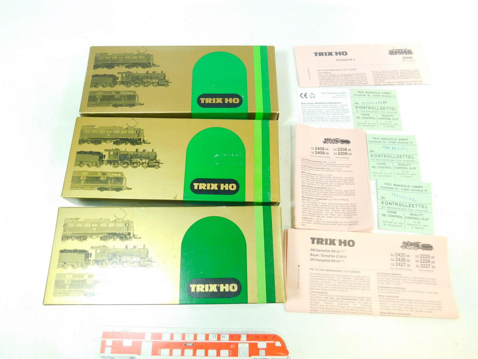 Bt829-1 x Trix International h0 Empty Carton for locomotive
