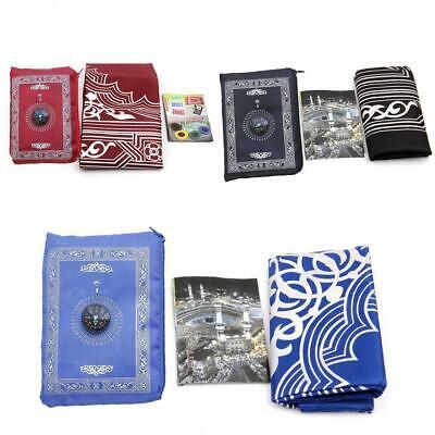 Farbe Tragbare Islamische Gebetsteppich Matte Decke Kompa Y8S3 Mit B6L3 S9M2