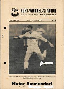 DDR-Bezirksliga 66/67 BSG Stahl Walzwerk Hettstedt - Motor Ammendorf, 16.11.1966