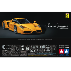 Tamiya 24301 Enzo Ferrari Yellow Version 1 24