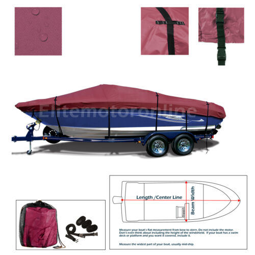 Sea Doo Sportster LE LT Trailerable Jet Boat Cover 2001-2006 Maroon