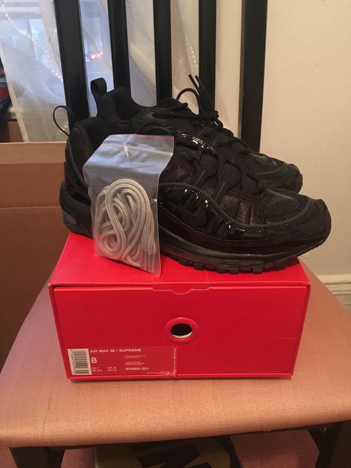 Nike air max 97 nero supremo x 8