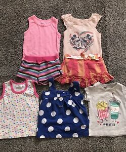 Baby Girl Summer Clothes Lot Size 6 9 12 Months Ebay