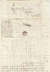 1744-DERBY-PMK-LETTER-EDWARD-WILMOT-TO-ROBERT-NEWTON-AT-NORTON-SHEFFIELD-YORKS