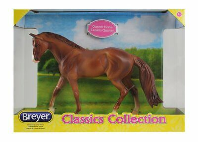 Aspirante Breyer 916 Marroni Quarter Horse Classic Collection-mostra Il Titolo Originale