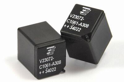 2x Relais Relay TYCO V23072-C1061-A308 für Fiat Punto 188 Power Steering City
