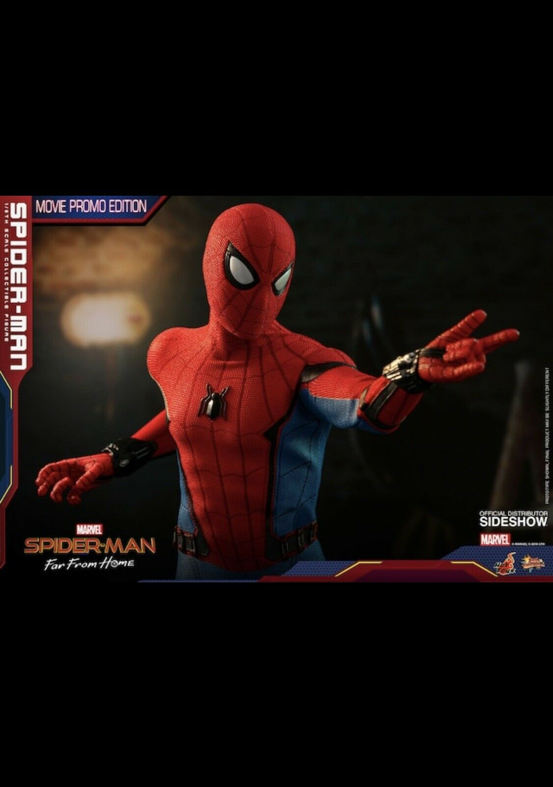 Pre Order Spider-Man (Movie Promo Edition) Sixth Scale Figure by Hot Toys