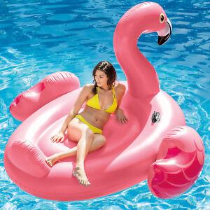 Intex-56288-Badeinsel-Flamingo-Schwimmliege-Pool-Lounge-Wasserliege-Luftmatratze