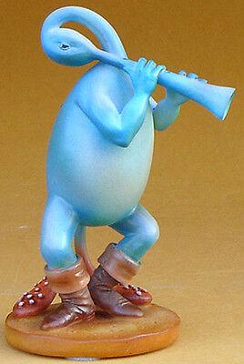 HIERONYMUS BOSCH Blue Flutist Music Gothic Art Figure Sculpture Figurine Statue