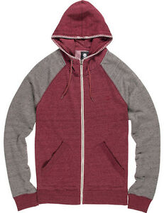 ritssluiting Met Hoody Meridian Napa Element Red In 1qHP1