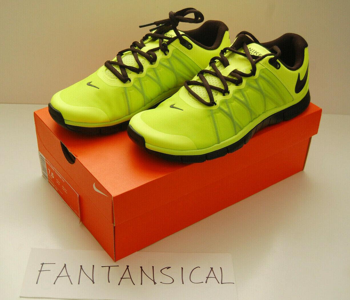 Nike Free Trainer 3.0 Volt Black Style Style Style 630856-701 Men's Size US 7.5 BNIB 772e73