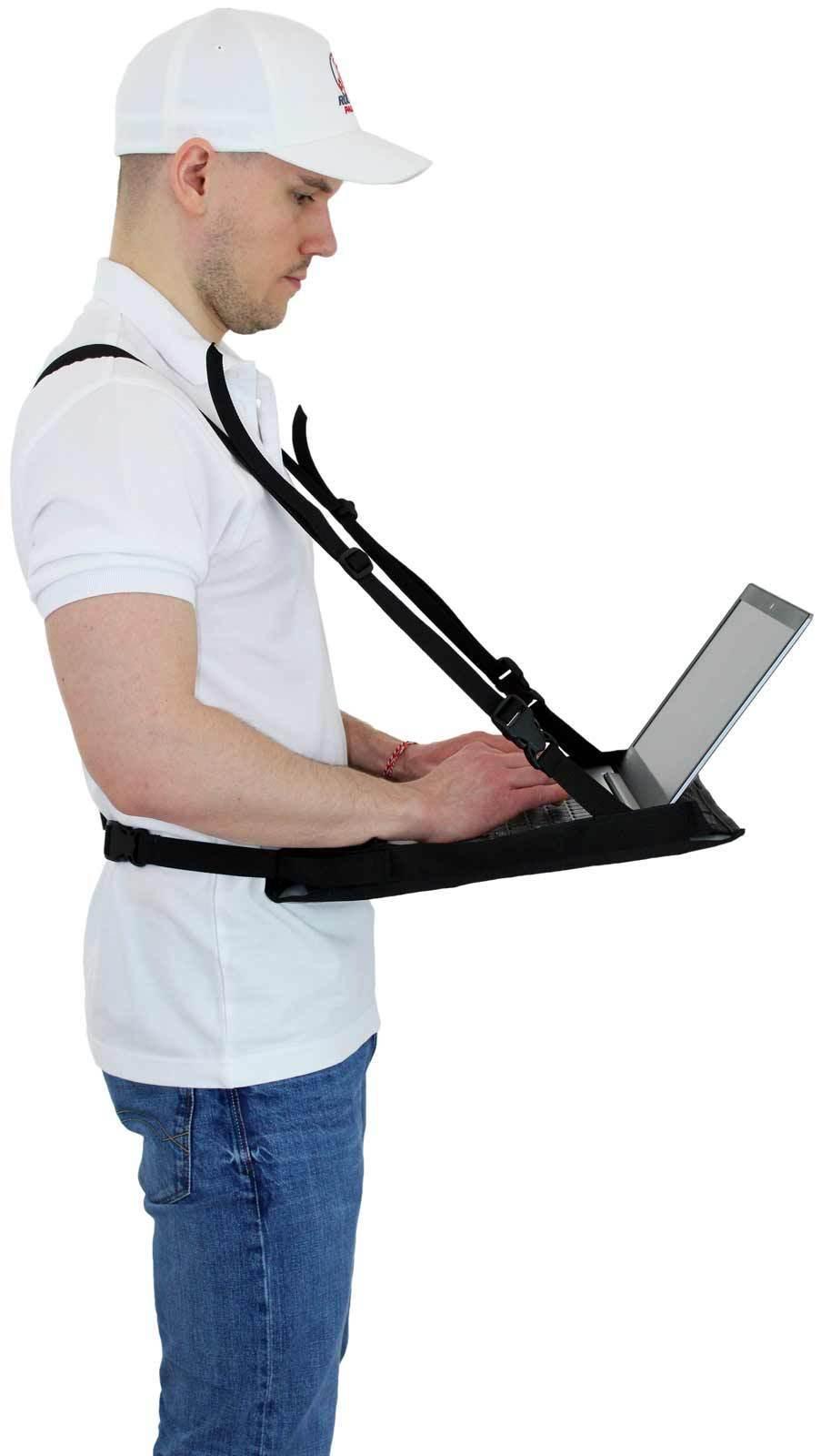 Laptop Supporter Inventur Notebook Supporter Laptop Bauchladen Bauchladen Bauchladen Laptop Halter f70115