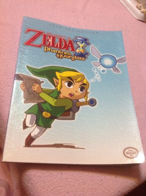 The Legend of Zelda Phantom Hourglass Premiere Edition Strategy Guide Complete
