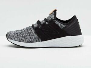 New-Balance-Men-039-s-Fresh-Foam-Cruz-Shoes-NEW-AUTHENTIC-Black-White-MCRUZKW2
