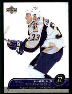 2002-03 Upper Deck Vladimir Orszagh #344