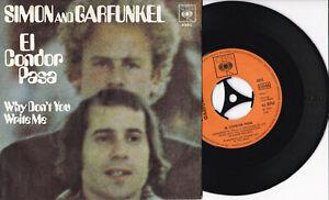 "Simon And Garfunkel -El Condor Pasa / Why Don't You Write Me- 7"" 45 CBS (4895) - Potsdam, Deutschland - Simon And Garfunkel -El Condor Pasa / Why Don't You Write Me- 7"" 45 CBS (4895) - Potsdam, Deutschland"