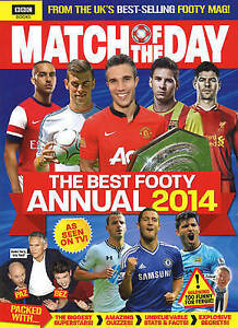 Match-of-the-Day-Annual-2014-Annuals-2014-TBC-Used-Book-Fast-Delivery