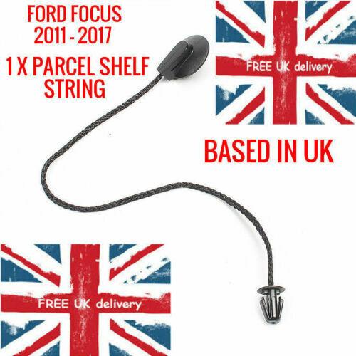 S/'adapter FORD FOCUS Berline 12-17 Coffre Arrière Intérieur colis étagère STRING Bracelet × 1