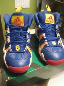 super popular 380a8 dfab0 Image is loading Kobe-Bryant-Crazy-8-Adidas-Basketball-Shoes-Size-