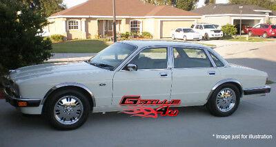 FOR 98-02 Lincoln Town Car Chrome Fender Trim