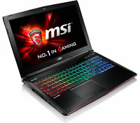 "MSI Apache Pro GE62 6QF 15.6"" Gaming Laptop i7-6700HQ 16GB 1TB+128GB GTX970M 3GB"