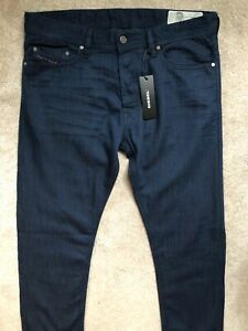 Blu-Diesel-034-TEPPHAR-034-SLIM-CAROTA-Jeans-Stretch-W-32-034-X-L-32-034-NEW-amp-Etichette