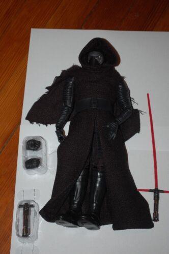 "Kylo Ren 12/""-Hasbro-Star Wars The Force Awakens Elite Series-30 Pts Articulation"