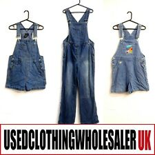 21 WOMEN'S GRADE B/C DENIM DUNGAREES USED WHOLESALE CLOTHING FASHION JOBLOT